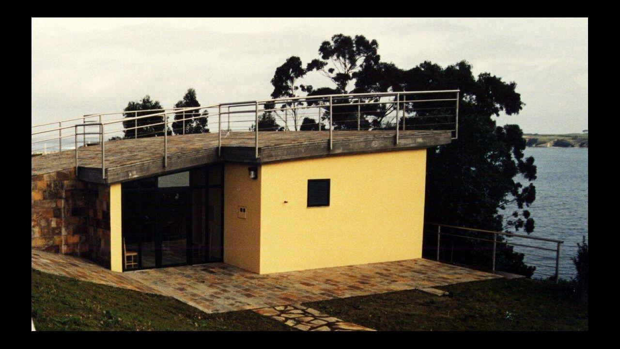 El albergue de peregrinos de Ribadeo, donde las fuerzas de seguridad confinan al indigente