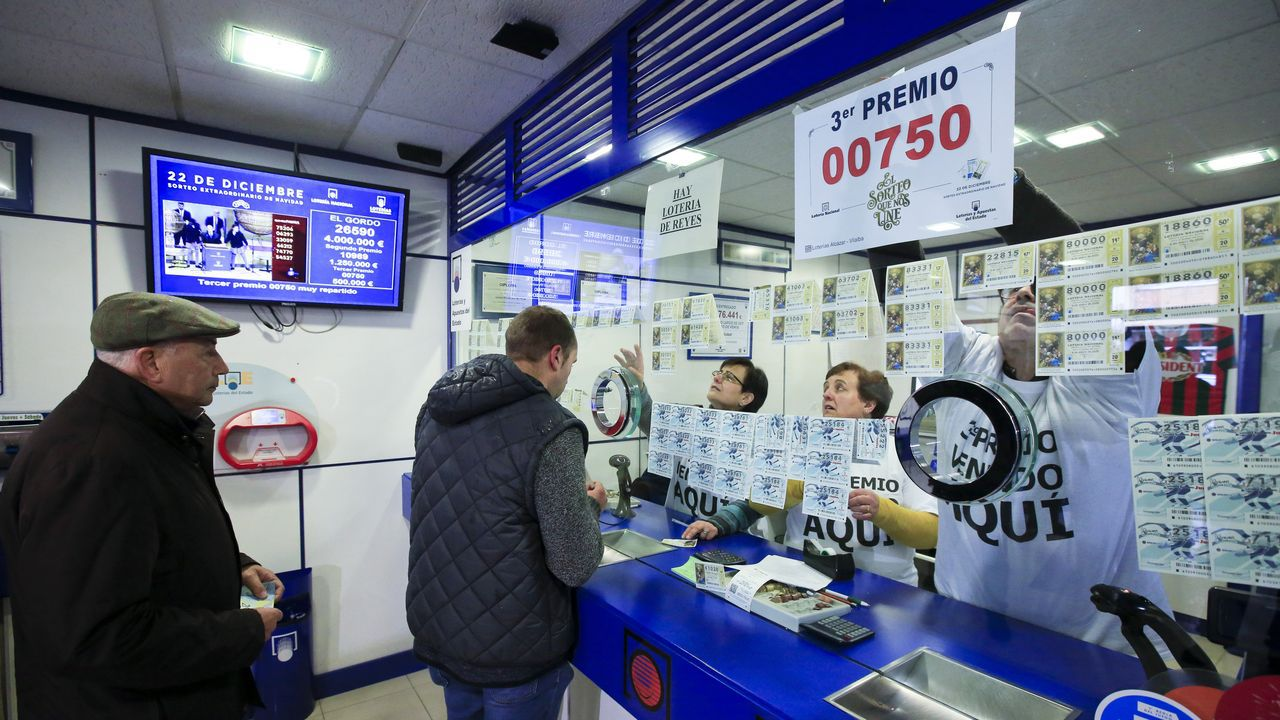 En Vilalba, abonada a la suerte, vendieron una serie completa del tercer premio