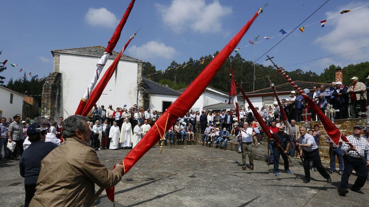 As Cruces. Arante.Romería de As Cruces. en Arante