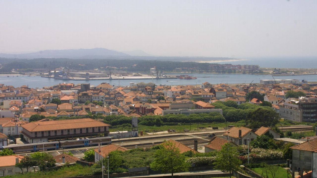 Vista de Viana do Castelo