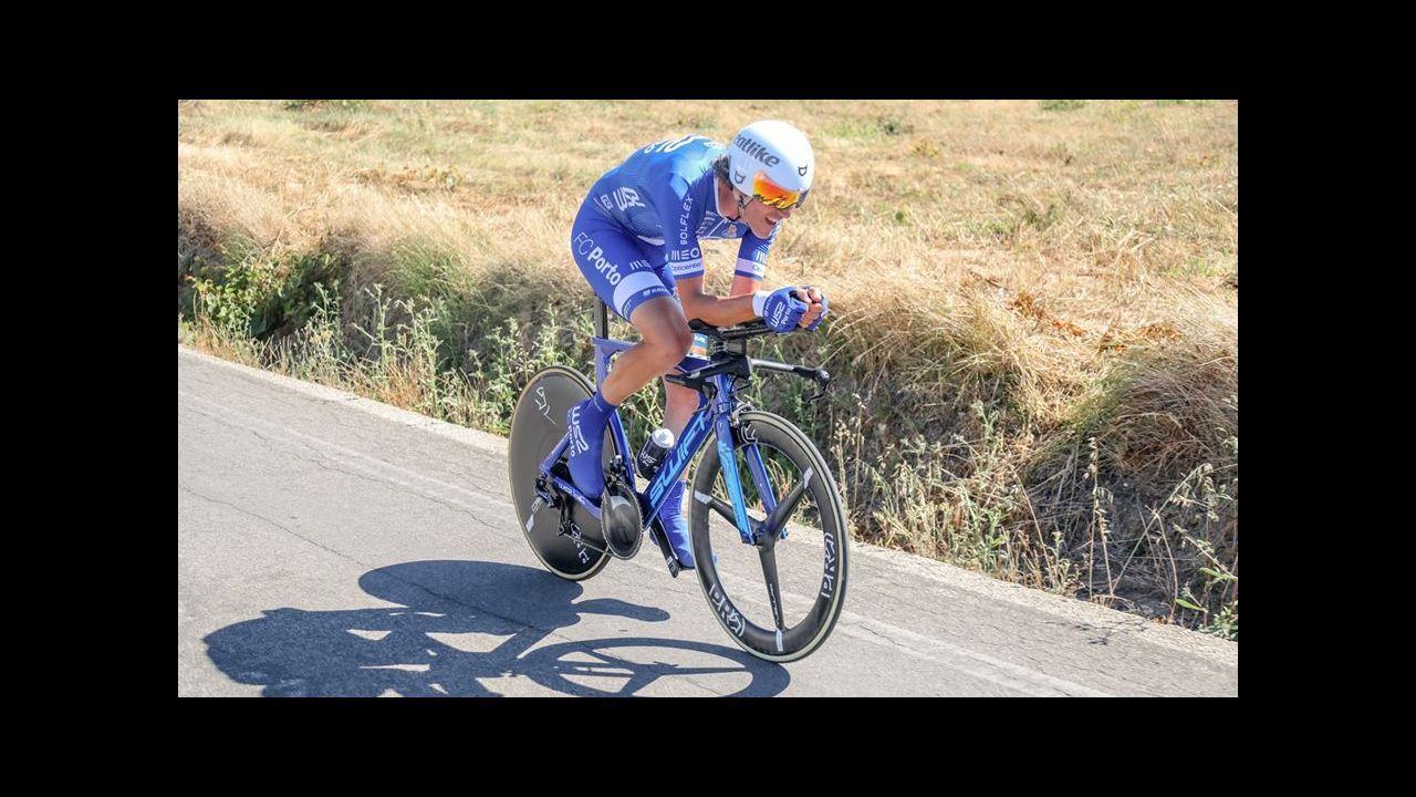 Iván García Cortina, ganador de la tercera etapa en París-Niza
