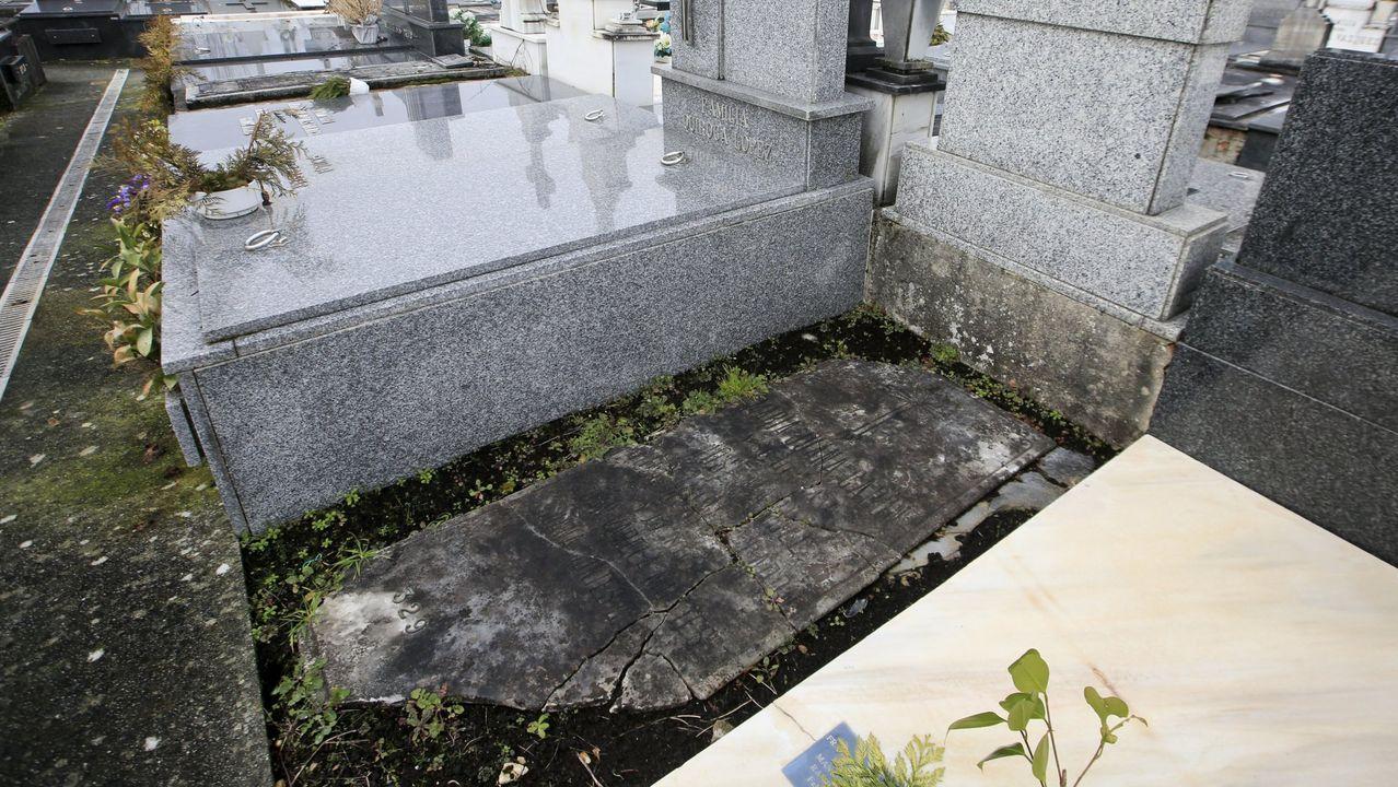 La tumba de Xoán Montes