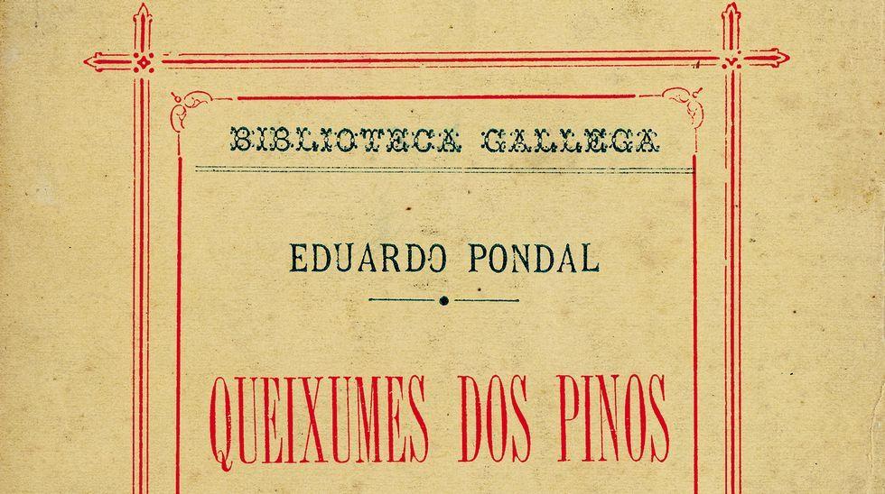 La Voz presentou o facsímile de «Queixumes dos pinos».Lois García, Xesús Alonso Montero e Xosé Ameixeiras, na presentación do facsímile na Academia