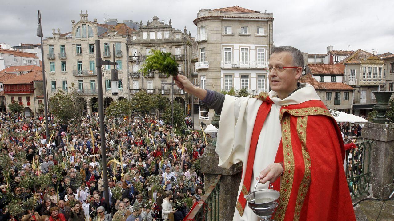 Recreación de la Pasión de Cristo en la Semana Santa de Paradela en Meis
