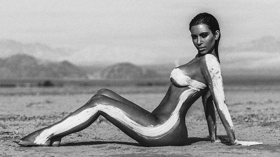 Glamour y estilo en la gala del MET 2016.Kim Kardashian.