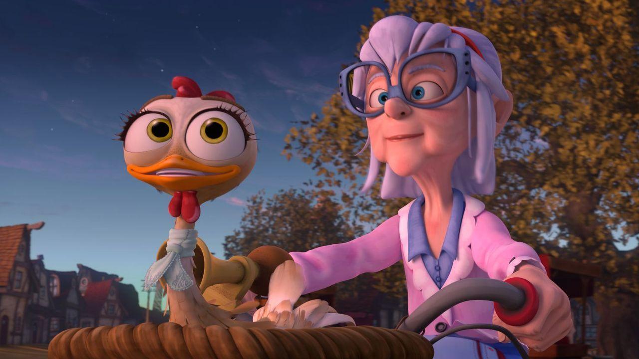Fotograma del filme «La gallina Turuleca»