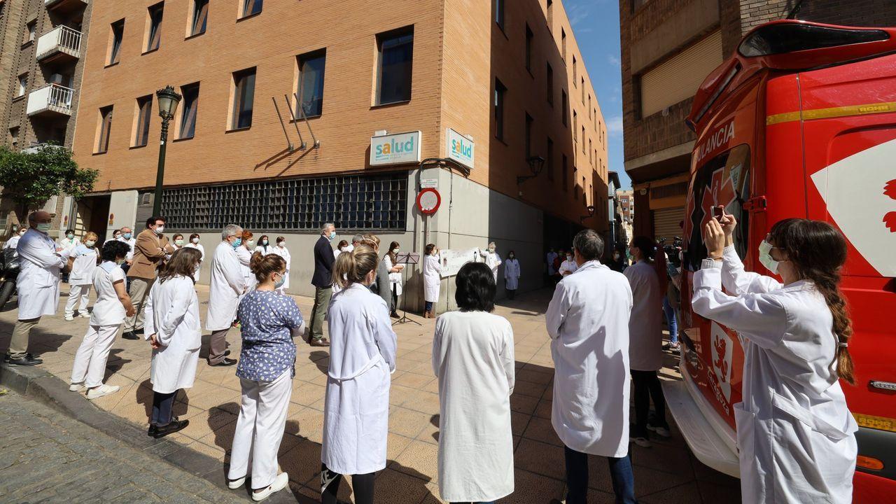 El Gobierno de Aragón, condenado por no suministrar material de protección a sus sanitarios contra el covid-19