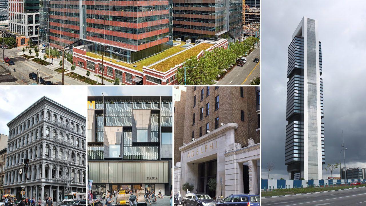 Las compras inmobiliarias más emblemáticas de Amancio Ortega.Estanislao Rodríguez-Ponga, durante el juicio, a través de las pantallas de televisión