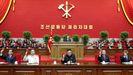 Kim Jong-un, en el congreso del partido norcoreano