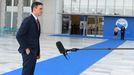 El presidente Pedro Sánchez, este viernes en la cumbre EUMED en Atenas