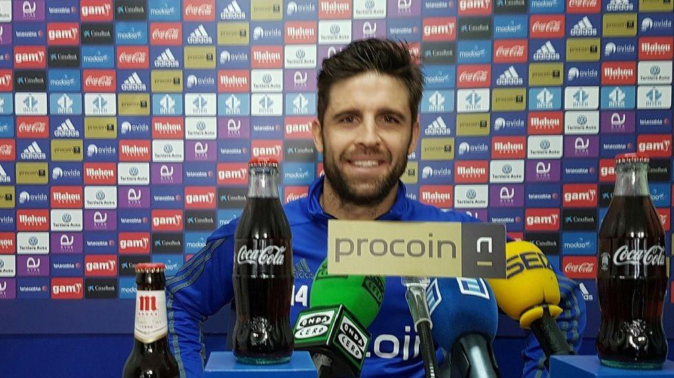 Héctor Verdés en rueda de prensa