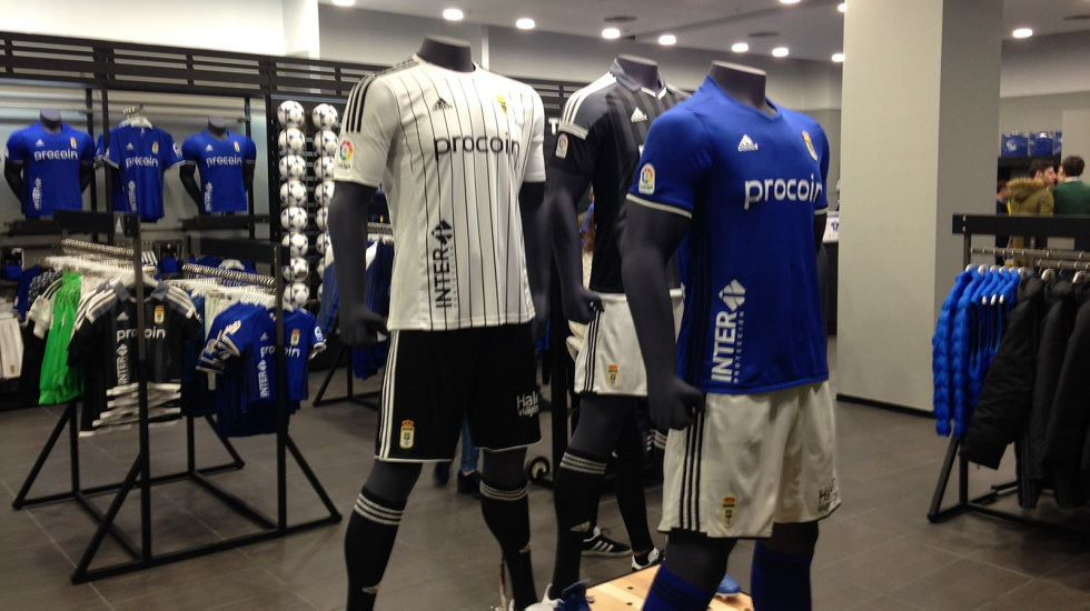 Nueva Tienda Oficial del Real Oviedo