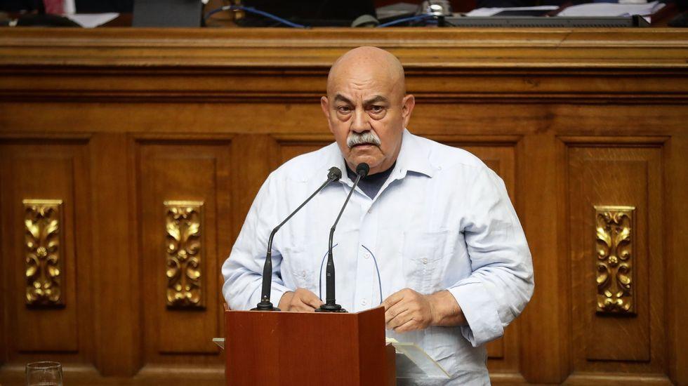 El dirigente chavista Darío Vivas, fallecido este jueves a causa del coronavirus