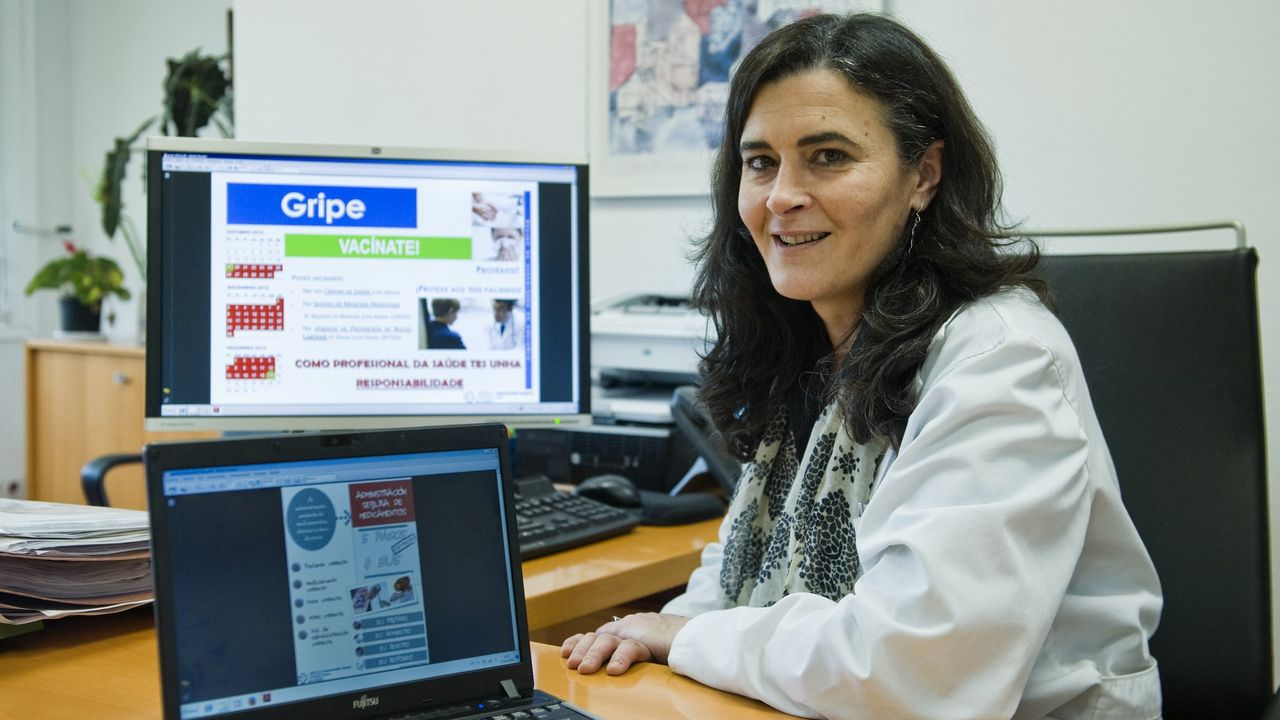 Silvia Rodríguez es miembro del equipo covid del Chuf