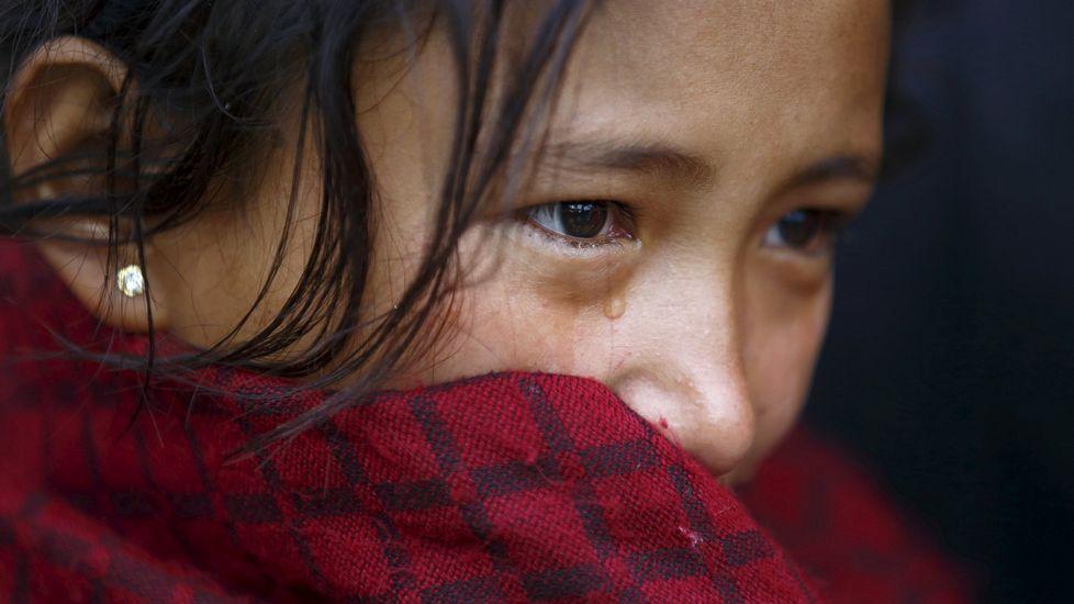 Exposición de belenes en Tui.Una niña de Nepal de 15 años