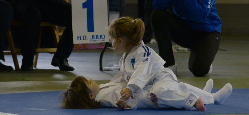 Los niños y niñas más pequeños evolucionan con ejecuciones técnicas.