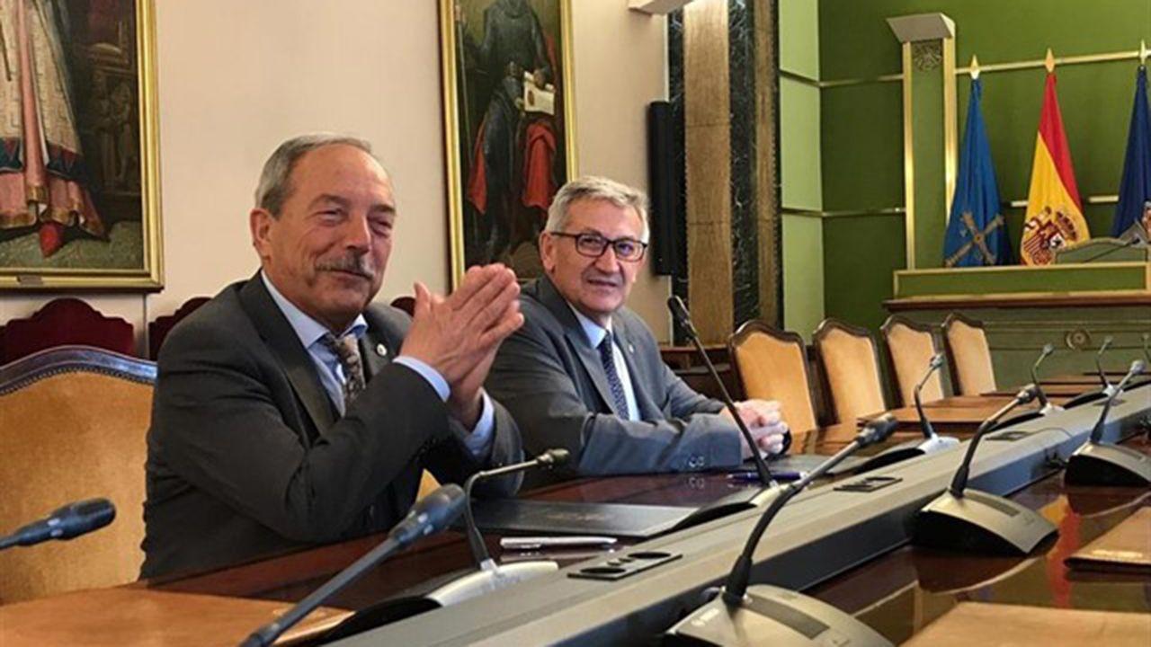 Wenceslao López y Santiago García Granda