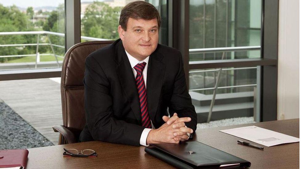 Ángel Antonio del Valle, expresidente de Duro Felguera