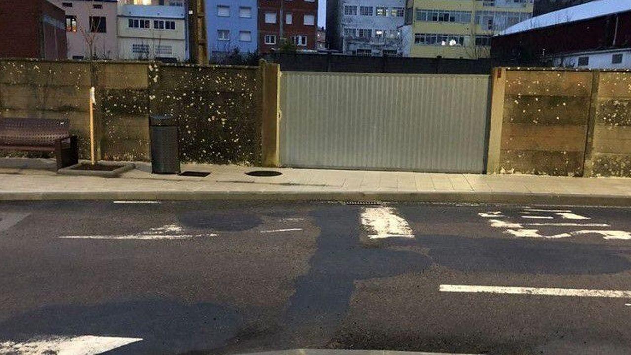 El PP critica el aspecto de la calle tras la realización de obras de mejora
