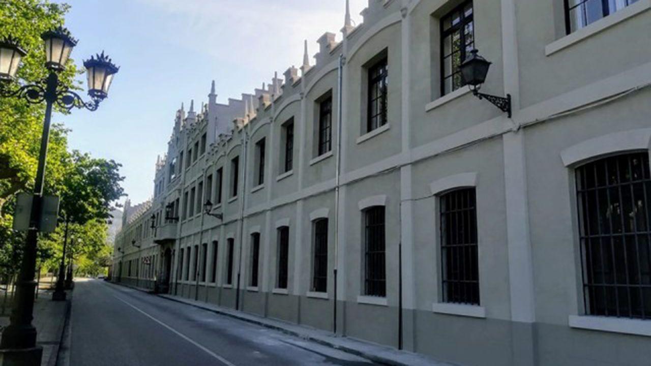 Detenidos cuatro presuntos yihadistas en Galicia y País Vasco.Fábrica de Armas de Trubia