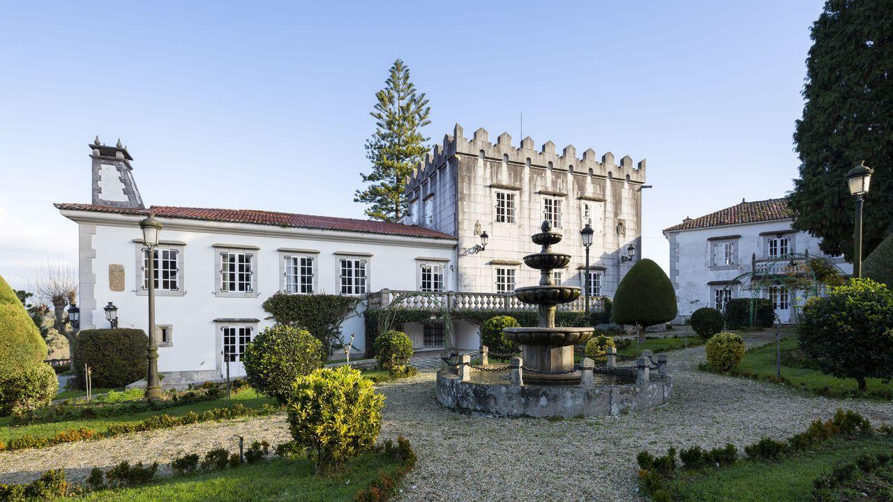 El pazo de Armuño, en Bergondo, a la venta por 3,8 millones de euros
