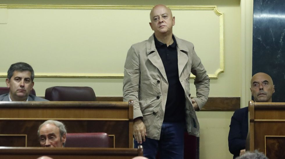 Odón Elorza fue uno de los diputados socialistas que votó no en la investidura de Rajoy