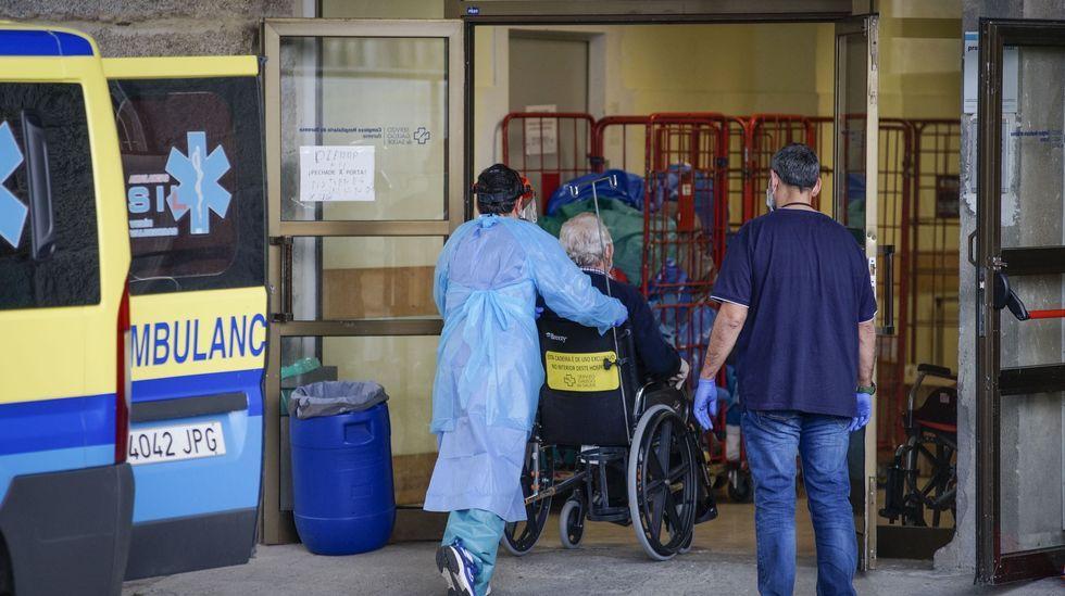 En la primera ola se trasladaron a Piñor a residentes en centros de mayores que se habían contagiado de covid