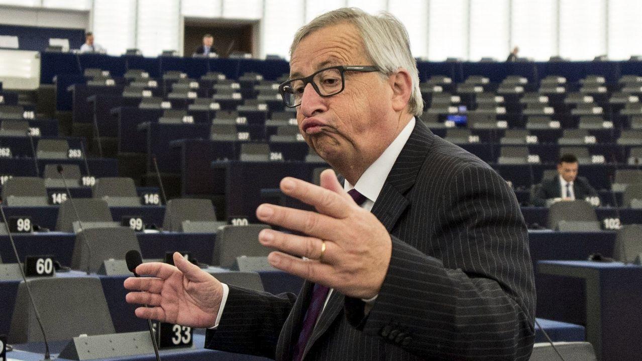Absentismo masivo en el Parlamento Europeo.Pleno del Parlamento Europeo en octubre