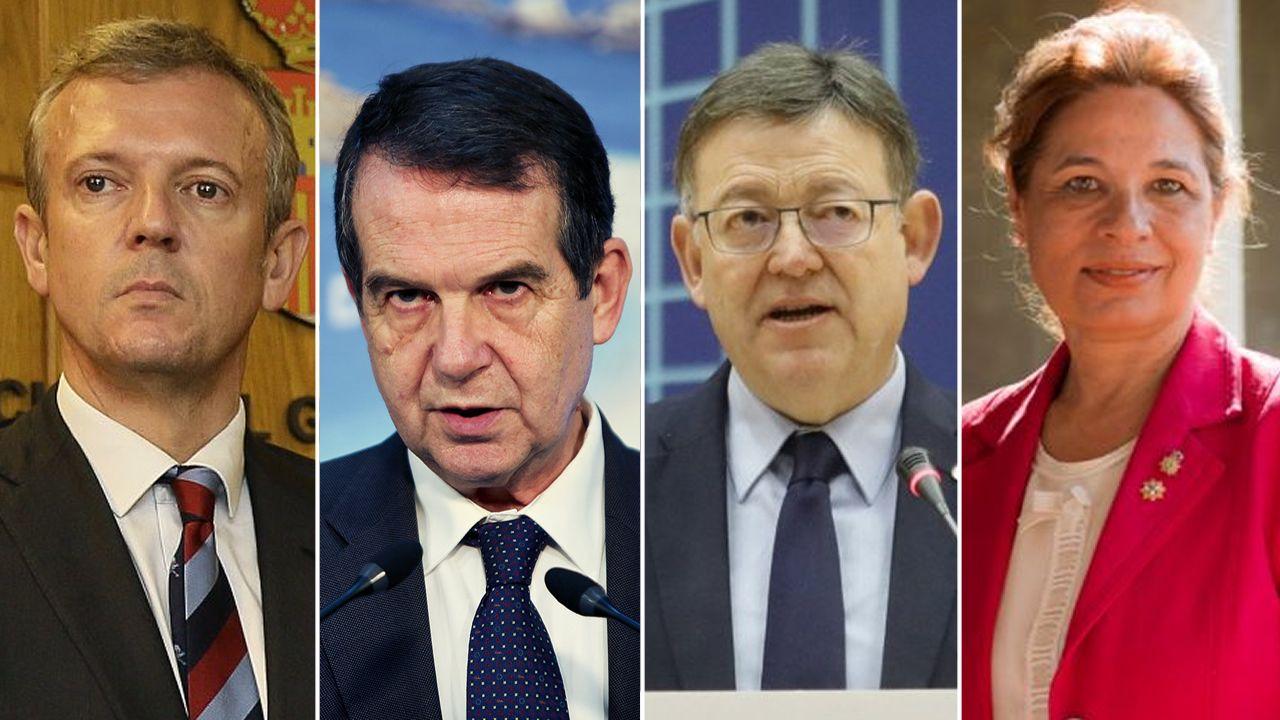EN DIRECTO: comparece la ministra Montero tras el Consejo de Política Fiscal y Financiera.El presidente de la Generalitat, Quim Torra (derecha), y su vicepresidente, Pere Aragonés