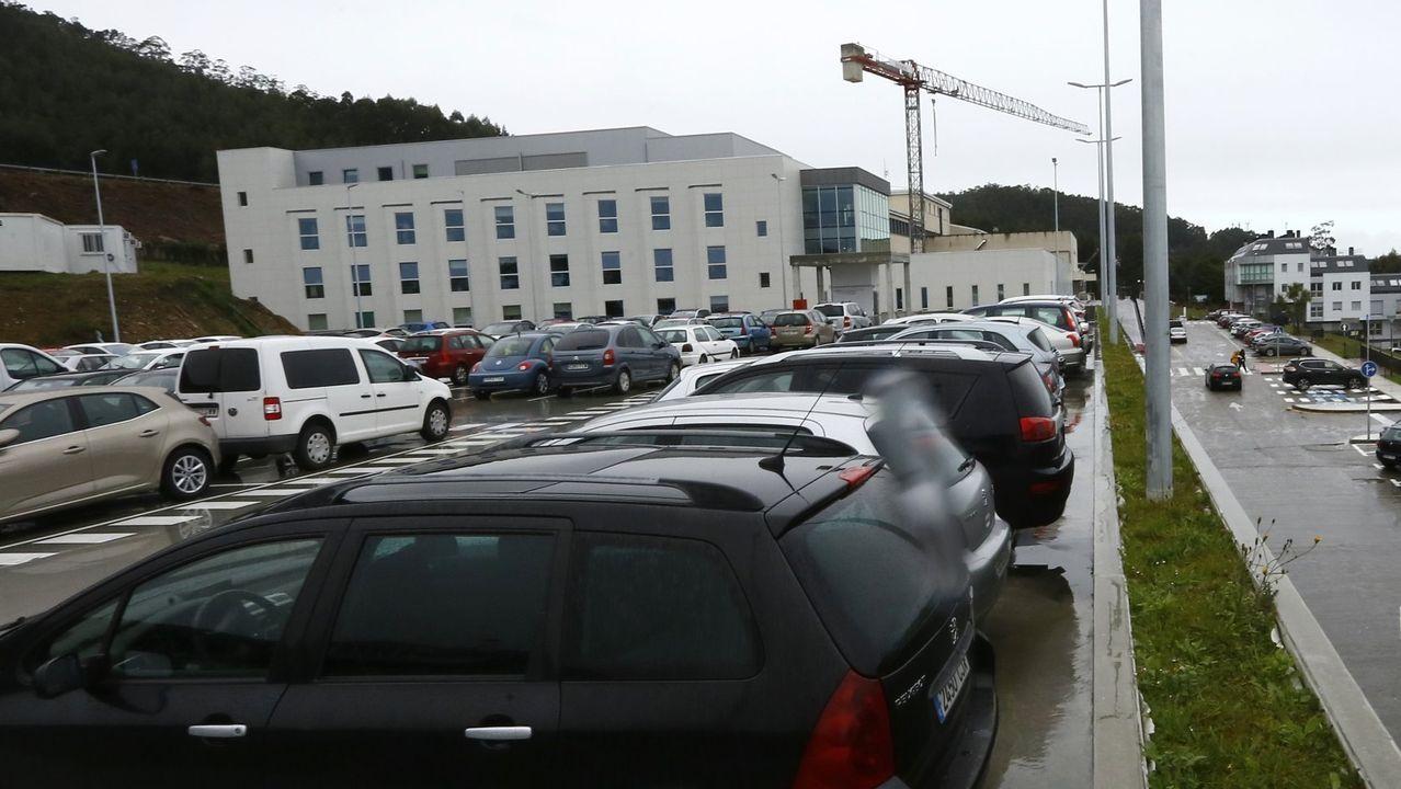 De los 19 pacientes ingresados por covid en la provincia, once están en el Hospital Público da Mariña, en Burela