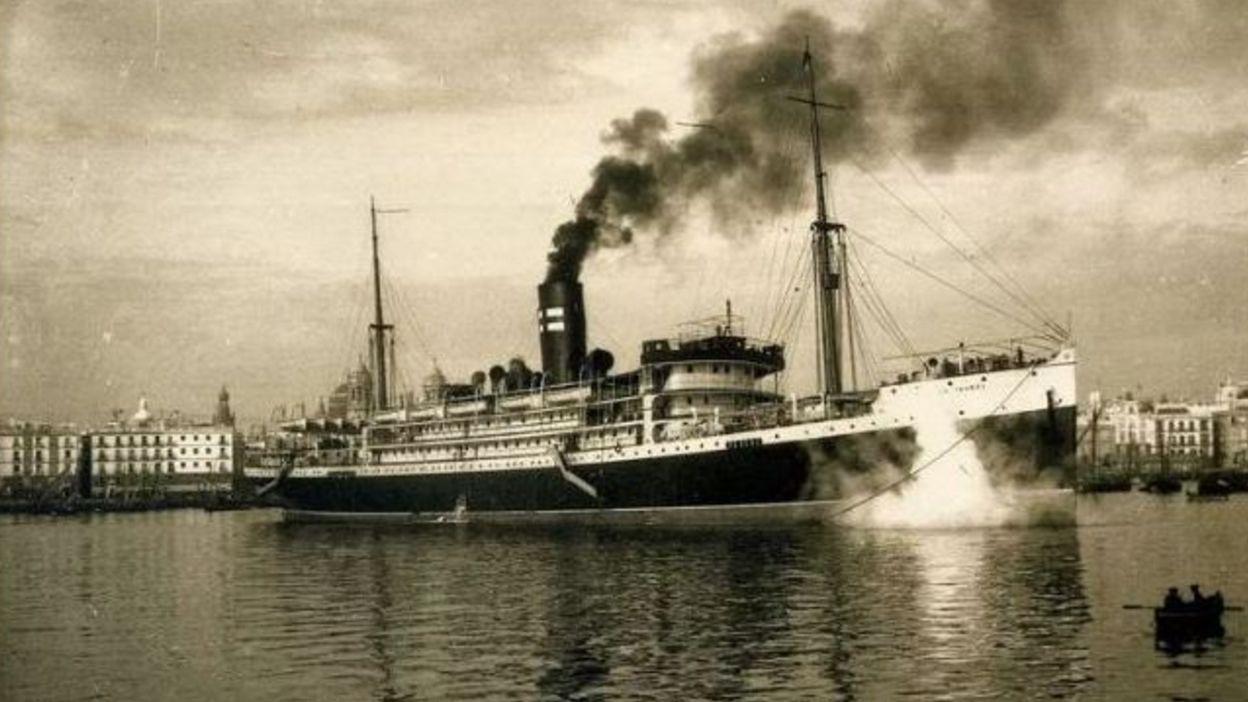 Así es el molino de Don Álvaro.El vapor Infanta Isabel construído en 1912 que podía llevar hasta 1.500 pasajeros