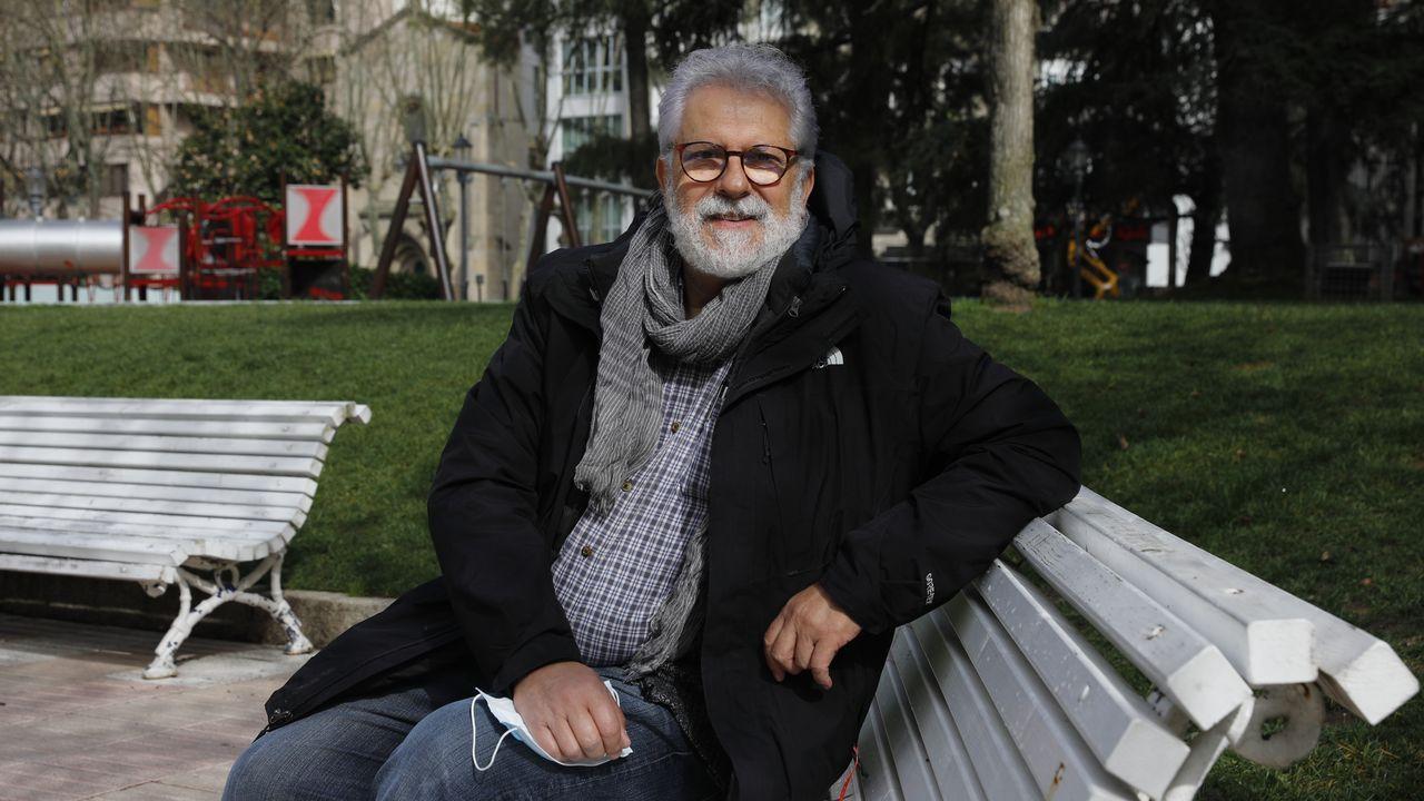 Armando González, que era neumólogo en el CHUO, fue el primer paciente que ingresó en el hospita ourensano con coronavirus