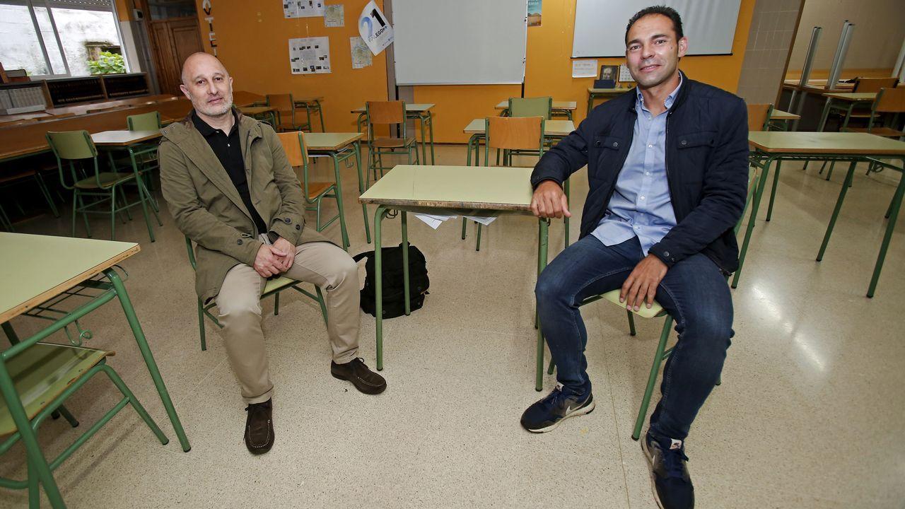 Carlos Rodríguez y Enrique Rey serán los nuevos directores de los IES Sánchez Cantón y A Xunqueira I, de Pontevedra, respectivamente