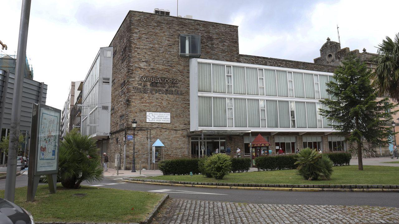 El centro de salud Virxe Peregrina, de Pontevedra