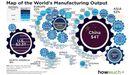 La industrialización en el mundo en 2018. En 2021 ha aumentado la diferencia entre China y Estados Unidos