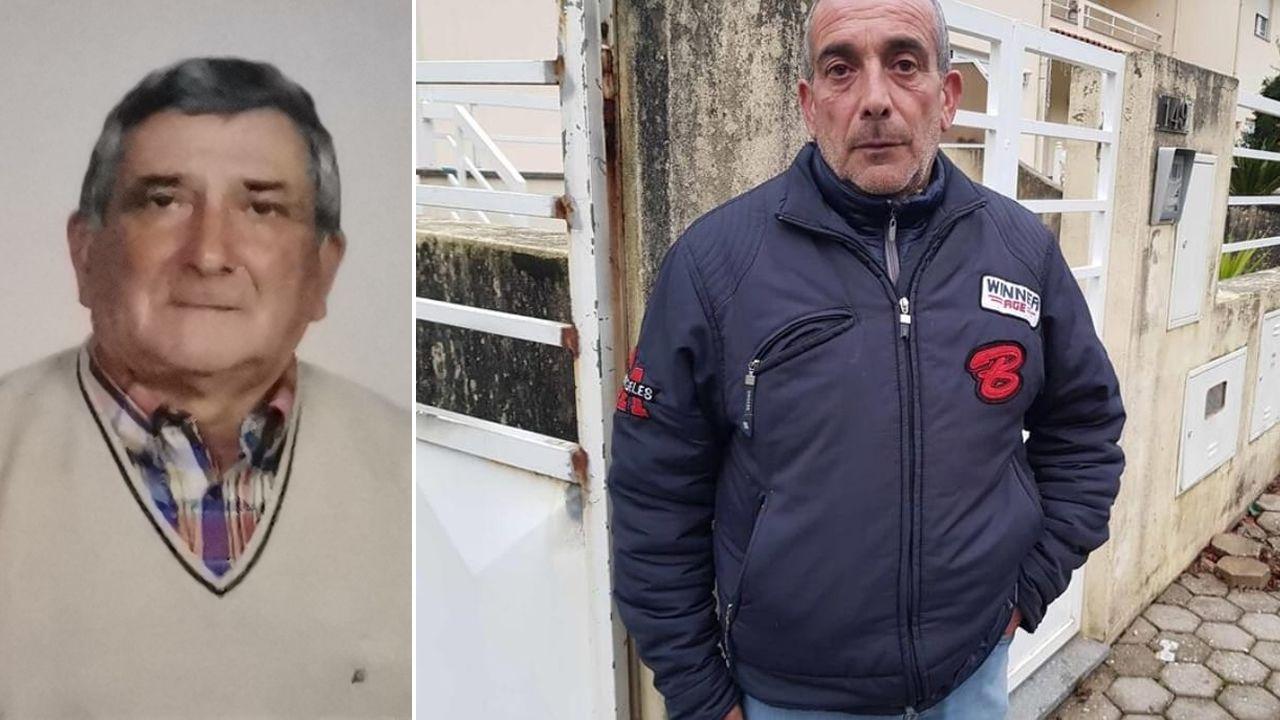 A la izquierda, José Vieira, el nonagenario al que dieron por muerto y, a la derecha, su hijo, Aureliano Vieira