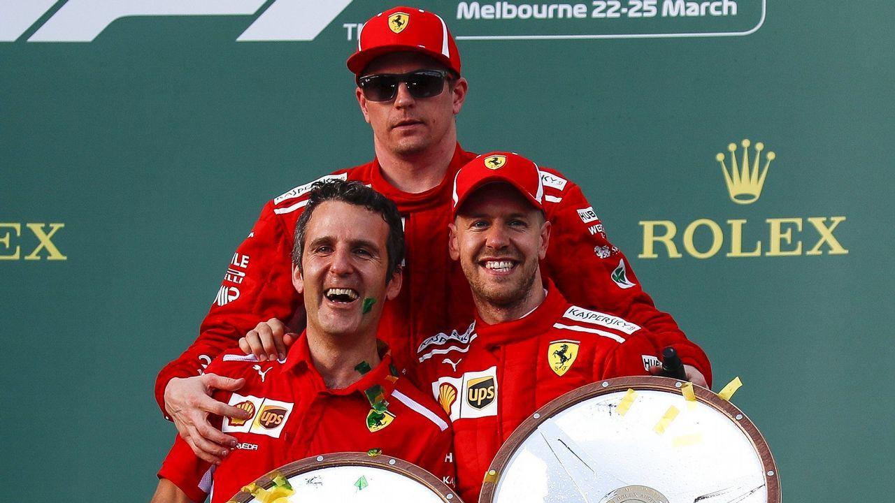 El reencuentro de los retornados.Fernando Alonso