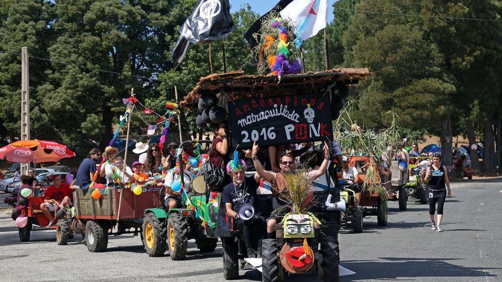 Matraquillada del festival Antrospinos en Taragoña