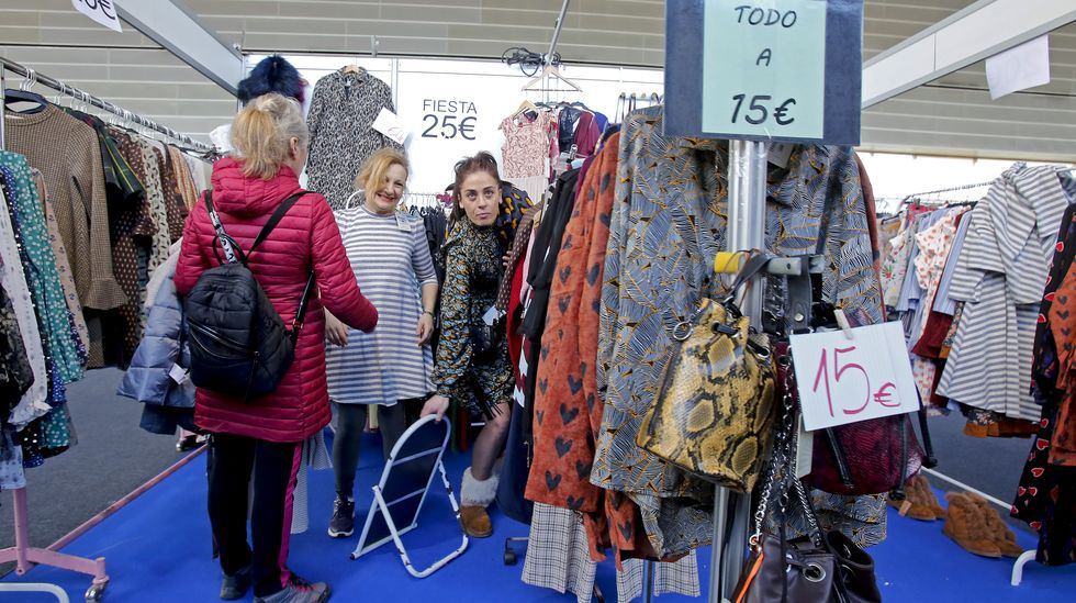 Feria de las rebajas Stock Pontevedra