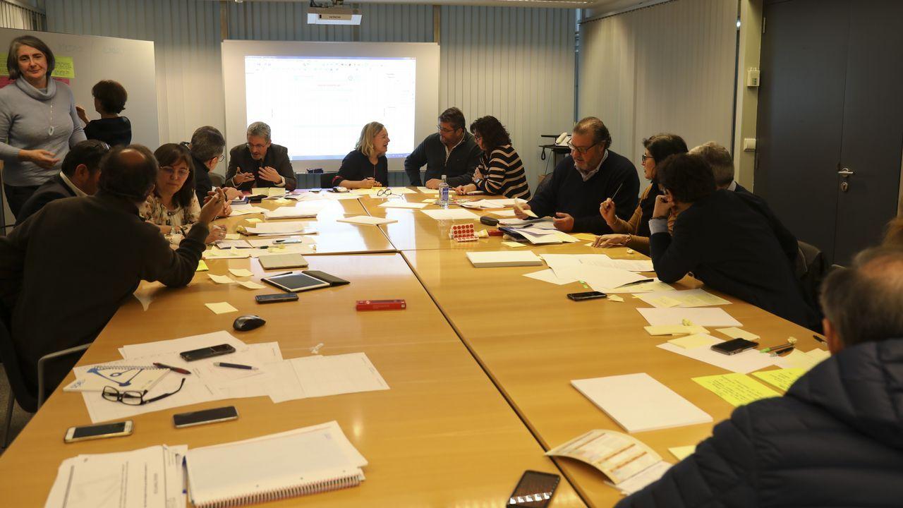 Reunion de los grupos de trabajo para la reforma de la atencion primaria