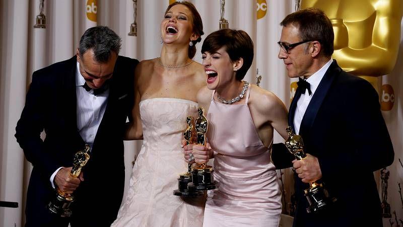 Oscars 2013: Los galardonados de la noche.El cerdo vietnamita recuperado en Outeiro de Rei.