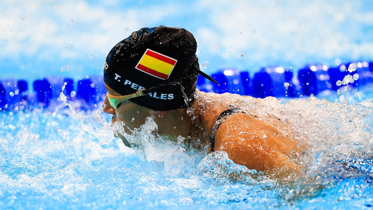 La nadadora española Teresa Perales
