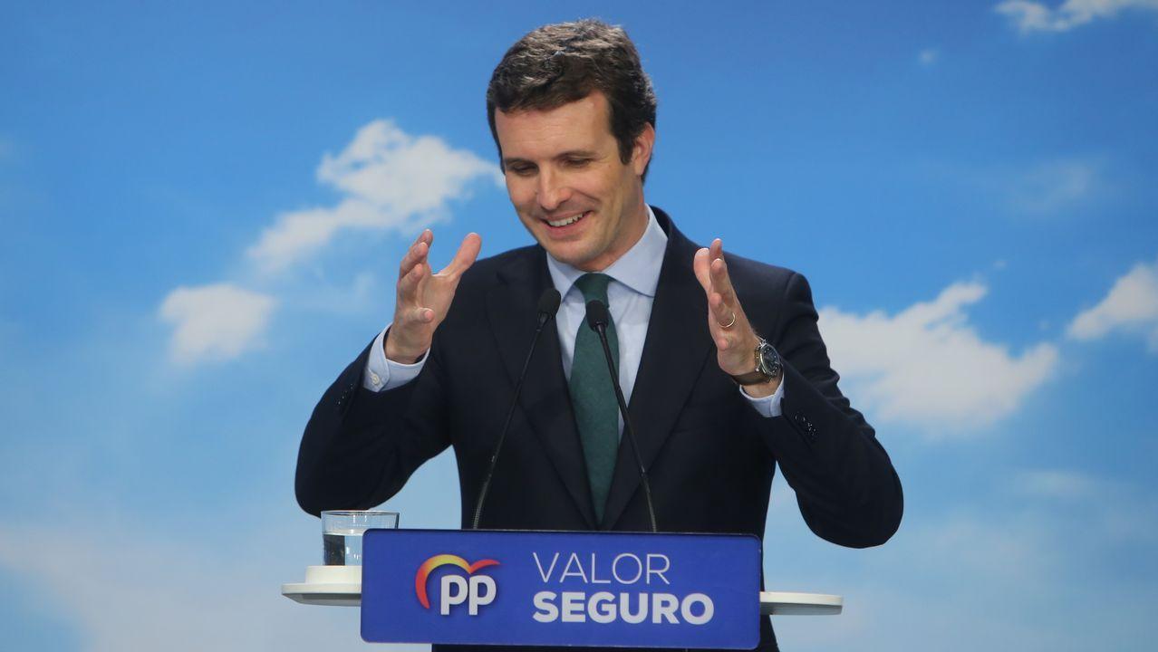 Estimación de voto en Ferrol.A la izquierda, Valentín Mera, el edil que tomó posesión en el último pleno del mandato; y a la derecha, Celestino García, el popular que deja la corporación local después de veinte años