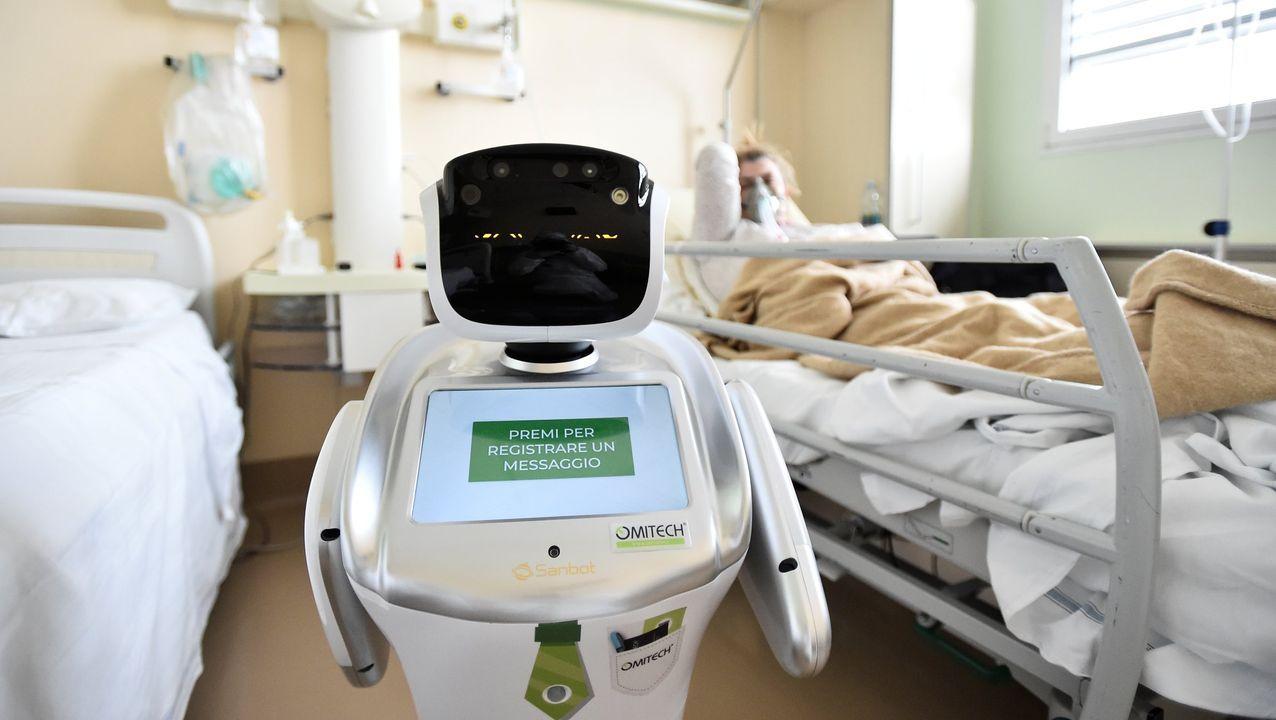 Fernández es médico del servicio de enfermedades infecciosas de un hospital escocés