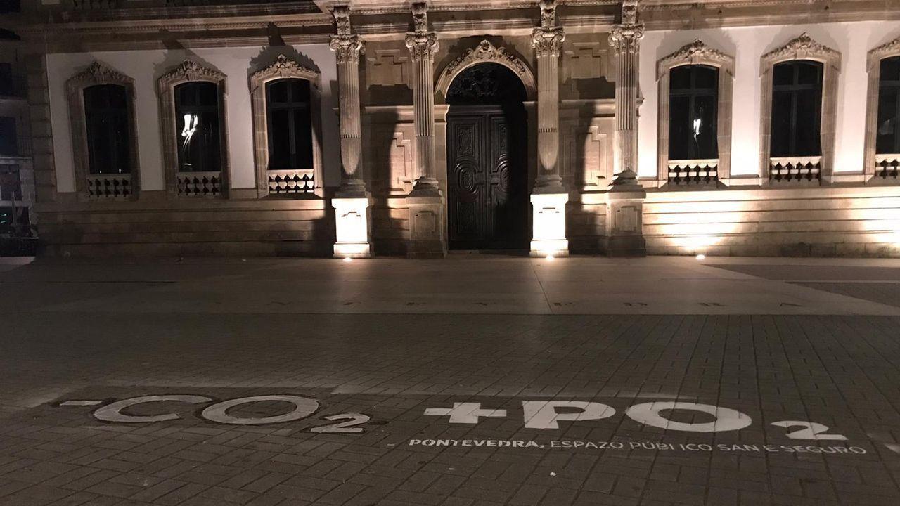 Pontevedra invita a <span lang= gl >«borrar a pegada do CO2»</span>
