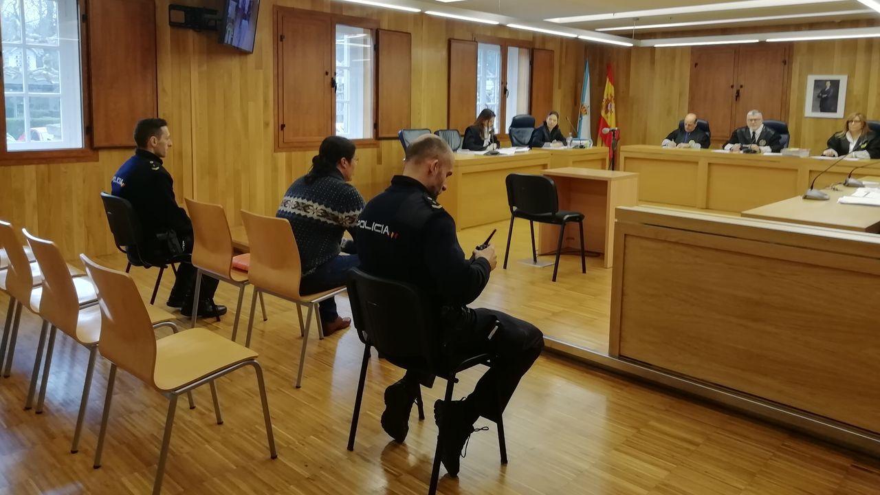 Víctor Pereira, en el jucio celebrado en Lugo en diciembre del 2017 en el que fue condenado por agresión sexual