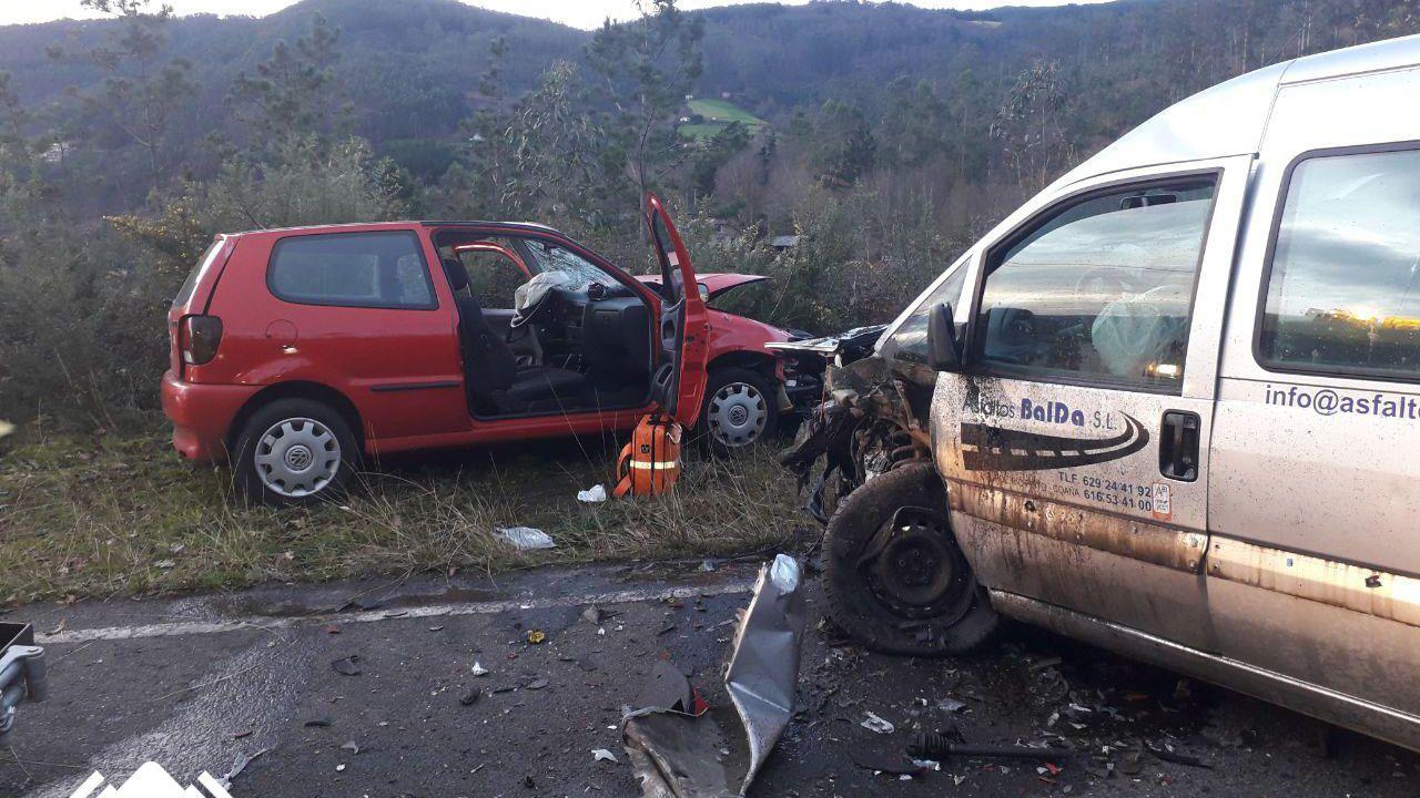 Accidente de tráfico en Coaña