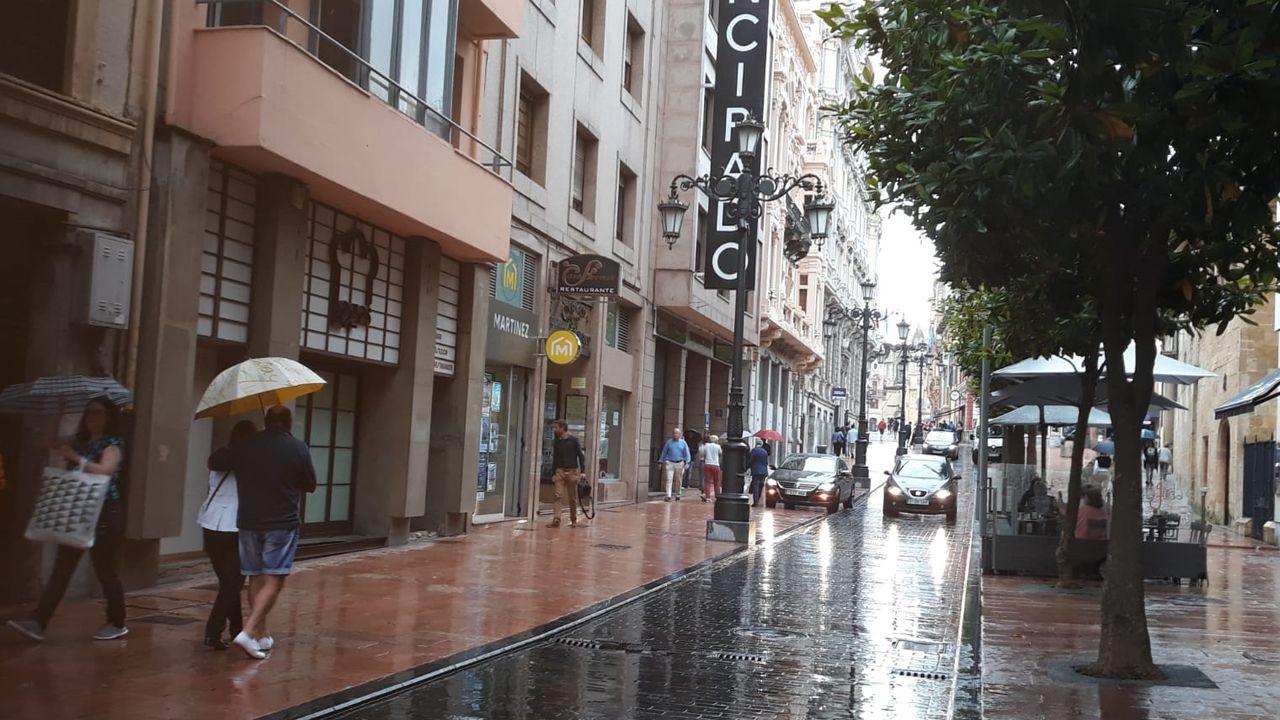 Temporal.Oviedo en julio