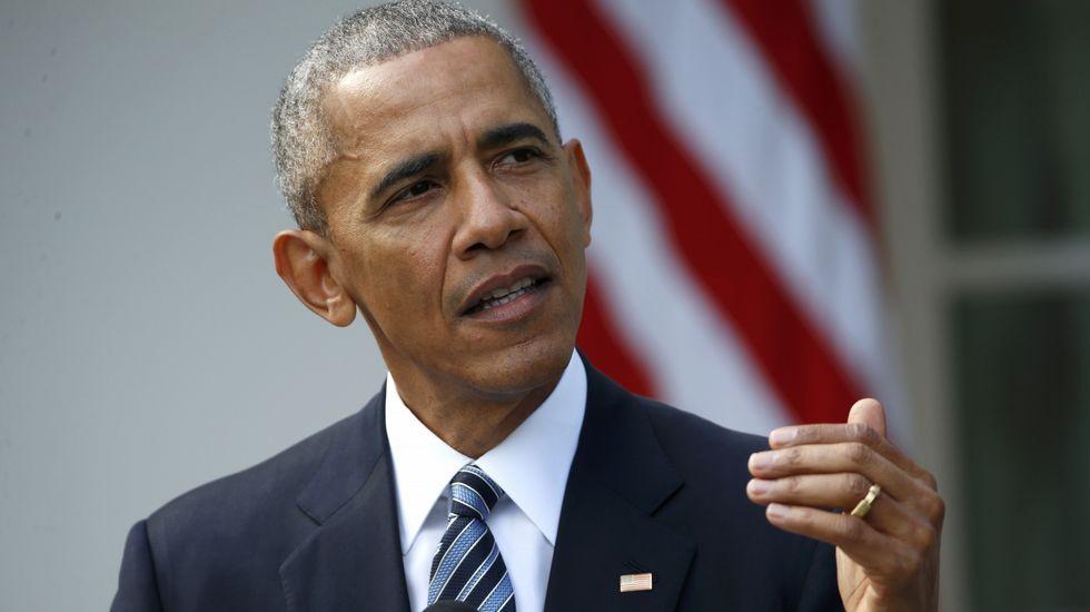 Obama pide «unidad» a Donald Trump.BRIA WEBB | Reuters
