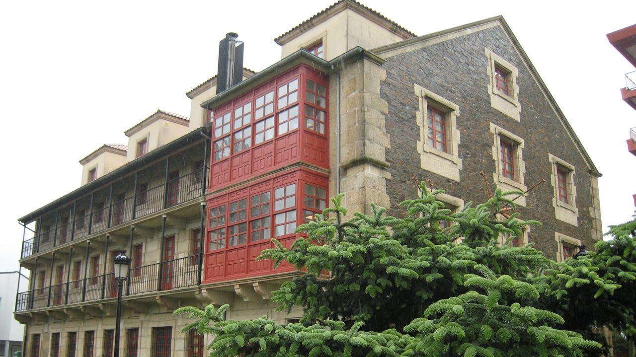Imagen de una de las donaciones realizadas en Ferrol